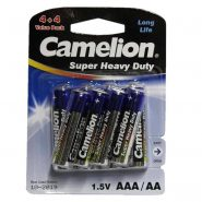 پک ۴+۴ باتری قلم AA و نیم قلم Camelion AAA