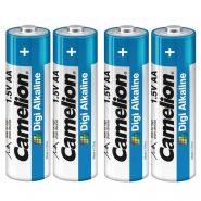 باتری قلمی ۴ تایی Camelion Digi Alkaline LR6 1.5v AA